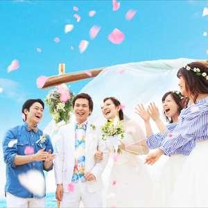 <幻のビーチ挙式>324,000円セレモニープラン