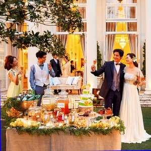 たいせつなゲストに囲まれて~大人数Weddingプラン~