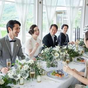 少人数&家族婚におすすめ!会食ウェディングプラン