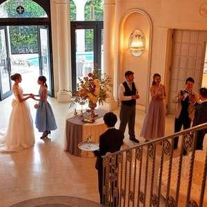 みんなのW限定!夏の訪れとともに結婚報告を。サマー装飾プラン