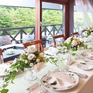 【レストラン会食プラン】 挙式後はアットホームな食事会
