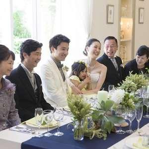 料理重視おもてなし大人婚~30名で邸宅貸切親族中心会食プラン