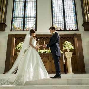 【2名から叶う挙式】白亜の大聖堂で誓うフェアリーハートプラン