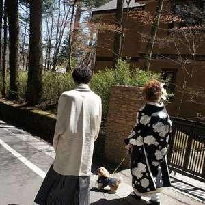 【わんちゃんと一緒に結婚式】