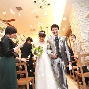 【プチ披露宴プラン☆彡】みんなであったか結婚式☆
