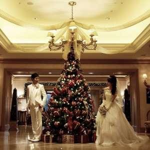 ガーデン館内クリスマス一色!クリスマスおもてなしプラン