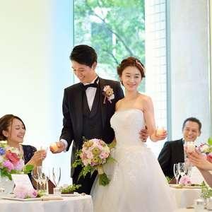 【2018年6~8月限定】ウェルカムドリンク付き夏婚プラン