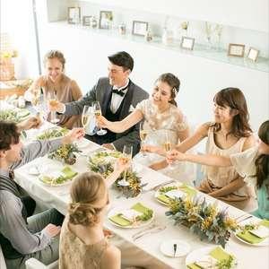 【5名様~OK!!】挙式+会食◆家族婚プラン♪