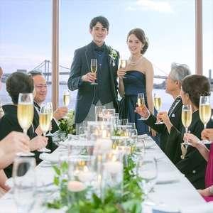 【4月挙式まで6名様128,000円】挙式と家族のお食事会プラン