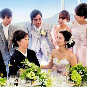 【高層階パーティ】家族婚少人数プラン