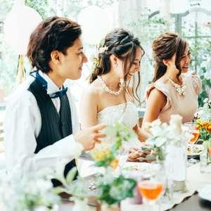 【平日限定6名12万円】チャペル挙式&会食ウェディングプラン