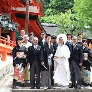 神社挙式×大人のご家族婚プラン