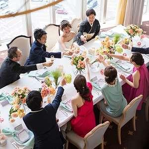 <家族や親しい方と祝う会食プラン>