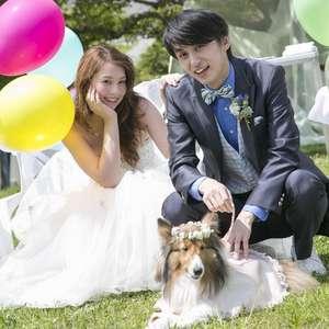 愛犬と一緒に叶える挙式が登場!~With ワン WEDDING~