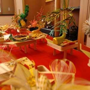 結納飾り、結納用装花も含まれるお得なプラン