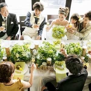 【少人数】アルバム付10名60万★アットホームな結婚式を!