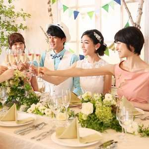 【10名58万円】家族と過ごす挙式+会食プラン