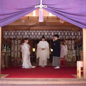布多天神挙式×調布クレストンホテル披露宴~送迎付き和婚プラン
