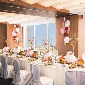 【少人数でアットホームな結婚式が叶う!】会食専用プラン