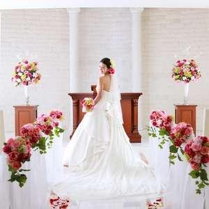 結婚式《9,800円》衣装&美容&写真 400着から選べる