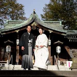 鳩森八幡神社での本格神前式&美食を楽しむ会食会プラン!