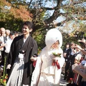 少人数・家族婚礼プラン(和装/日本庭園挙式)