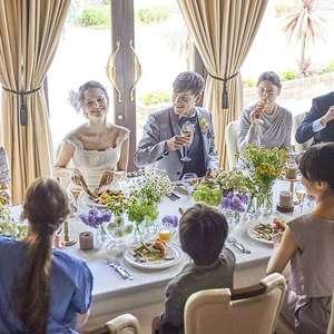 「挙げてみようかな」カタチに。家族の挙式プラン-20名会食-