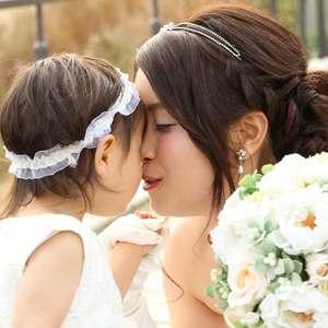 ≪パパママ限定プラン☆≫子供達と一緒にファミリーウエディング
