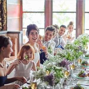 【20 名会食会プラン】ご親族様中心のお披露目会