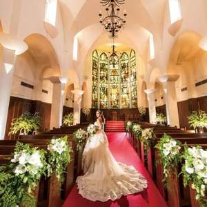 【2人でも大聖堂貸切】オールインワンで充実☆大聖堂挙式プラン