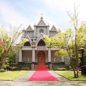 【平日限定】 挙式 + 聖堂内撮影プラン