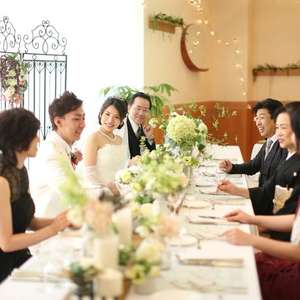 10名様挙式+会食★カジュアル婚(料理・衣裳・写真付)