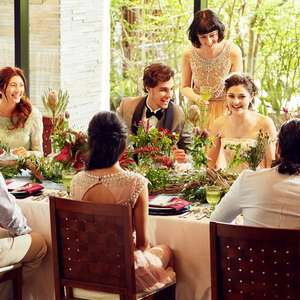 10名貸切 親族中心の会食会ウェディングプラン