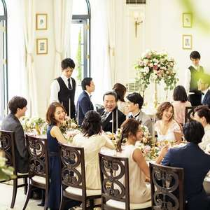 20名貸切 親族中心の会食会ウェディングプラン