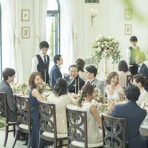 【10~40名結婚式限定】家族婚&少人数特別プラン