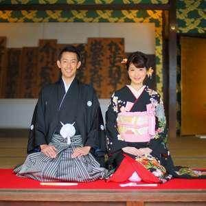 【和婚】殿様&お姫様気分を味わいませんか♪「草津宿本陣婚」