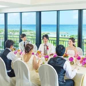 【挙式と会食10名セット 206,000円~】憧れのリゾ婚!