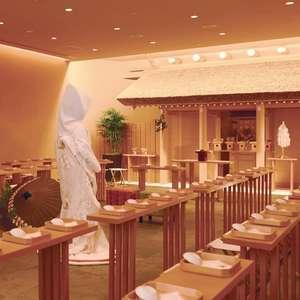 和を取り入れた結婚式が叶う!熱田神宮の分社神殿で和婚プラン