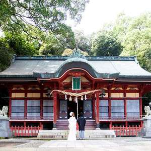 八幡朝見神社挙式