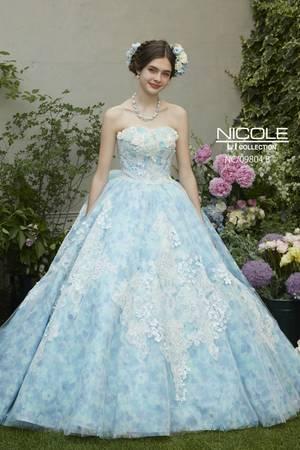 6d223d5b072a2 青・ブルー系のカラードレス byみんなのウェディング(15ページ目)