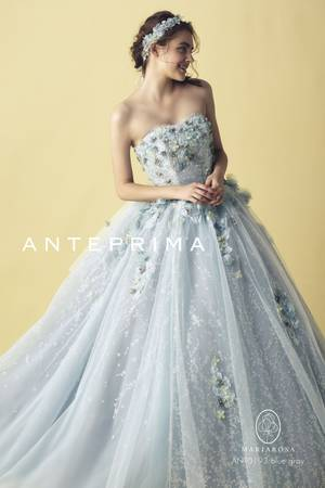 43144598cbf6f 青・ブルー系のカラードレス byみんなのウェディング(5ページ目)