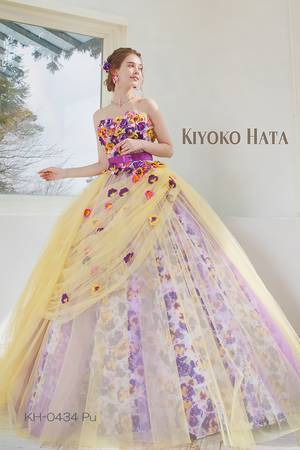 376584666a97f 紫・パープル系のカラードレス byみんなのウェディング(7ページ目)