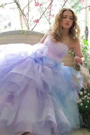 2250deec864f8 紫・パープル系のカラードレス byみんなのウェディング(6ページ目)