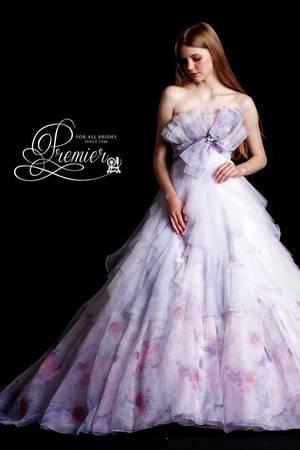 f050e3f3bf9b2 紫・パープル系のカラードレス byみんなのウェディング