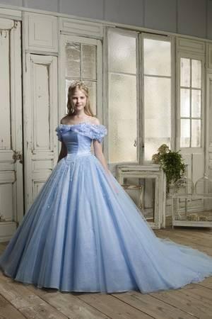 第10位 NO.シンンデレラブルードレス 「シンデレラ」のようなカラードレス