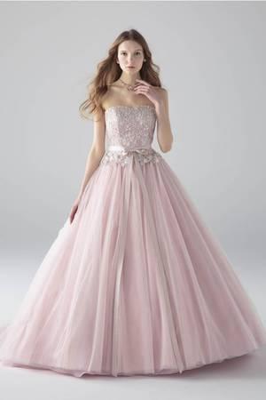 0cbb9899dfa00 ピンク系のカラードレス byみんなのウェディング(13ページ目)