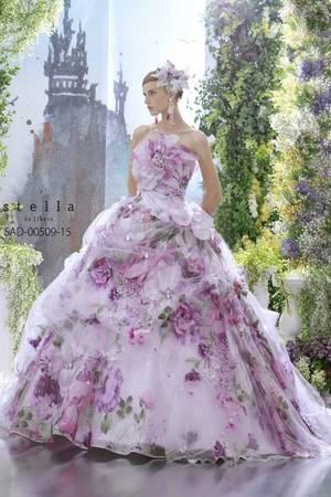 a5caf34eea92b 紫・パープル系のカラードレス byみんなのウェディング(2ページ目)
