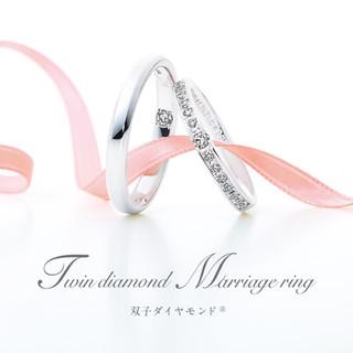 FELICE(フェリーチェ)セットリング ※双子ダイヤモデル