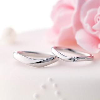 URBANO(ウルバーノ)マリッジリング※双子ダイヤモンドモデル