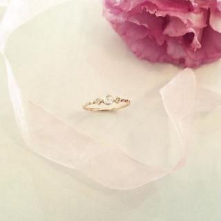 rose blanche(ロゼ ブランシュ)リング